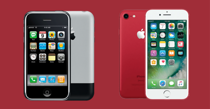 el iphone 7 diferencias entre el primer iphone y el iphone 7 de 10539
